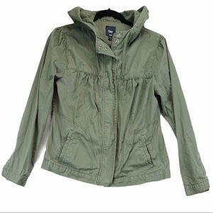 Gap M green jacket
